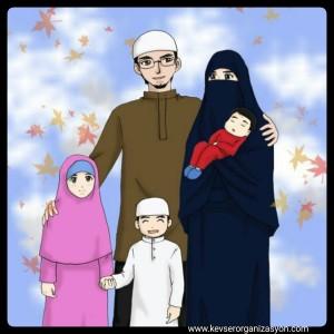 müslüman aile modeli
